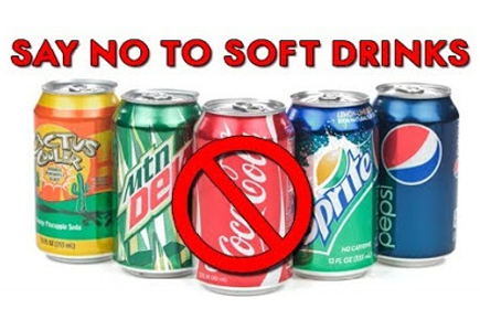 say no to soft-drinks