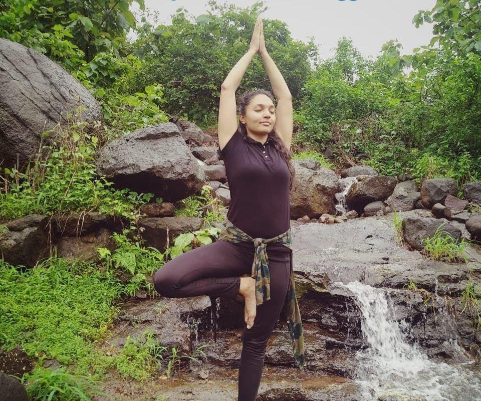 Ekpadasana One-legged pose