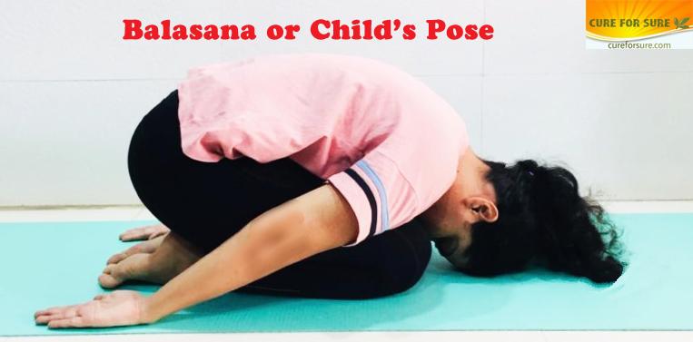 Balasana or Child's Pose